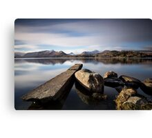 To the Cumbrian Mountains Canvas Print