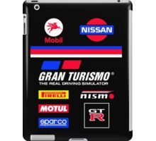 Nissan Retro Racesuit Design iPad Case/Skin