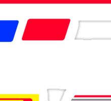 Nissan Retro Racesuit Design Sticker