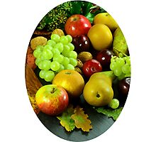 Colorful Fruit still life. Photographic Print