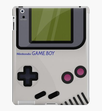 Gameboy - Nintendo - Game iPad Case/Skin