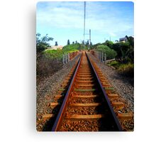Rusty Railway Canvas Print