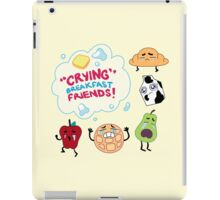 """Crying"" Breakfast Friends! // Steven Universe iPad Case/Skin"