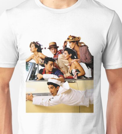 Friends Cast 4 Unisex T-Shirt