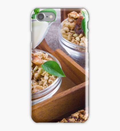 Healthy ingredients for breakfast iPhone Case/Skin