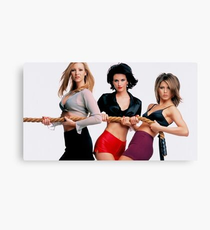 Friends Girls Canvas Print