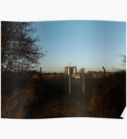 tanks fence  Poster