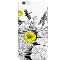 Water-lilies  iPhone Case/Skin