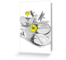 Water-lilies  Greeting Card