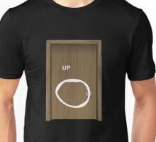 Glitch furniture door wood door with frame Unisex T-Shirt