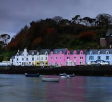Portree Harbour Sticker