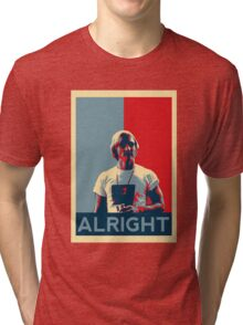 Wooderson (dazed & confused movie quote) - Alright Alright Alright Tri-blend T-Shirt