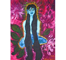 Forest Yogini Photographic Print