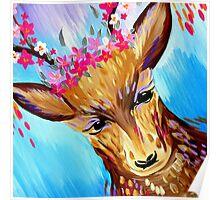 Deer Design Poster