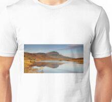 Old man of Storr reflection Unisex T-Shirt