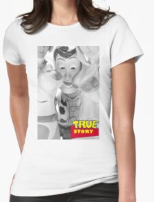 True Story - Naughty Woody Womens Fitted T-Shirt