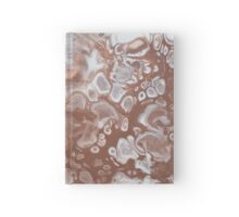Artwork inspired by Mineral Photo - Garnet Crystals Hardcover Journal