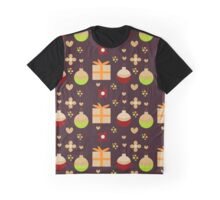 Christmas seamless pattern with toys and gifts Graphic T-Shirt