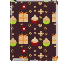 Christmas seamless pattern with toys and gifts iPad Case/Skin