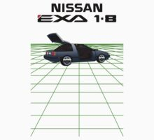 Nissan N13 Exa Coupe One Piece - Short Sleeve