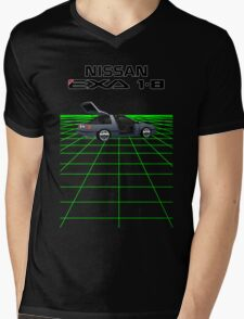 Nissan N13 Exa Coupe Mens V-Neck T-Shirt