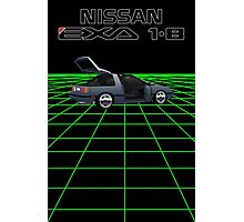 Nissan N13 Exa Coupe Photographic Print