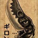 Waterbrushed Knifehead by cs3ink