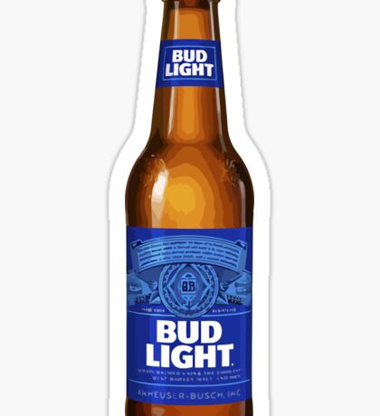 Bud Light Beer Sticker