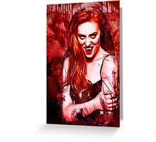 Jessica Hamby Greeting Card