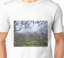Pendle hill in winter Unisex T-Shirt