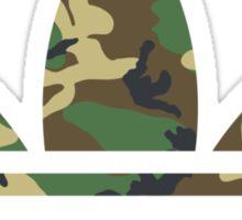Adidas Trefoil Original Woodland Camo Sticker