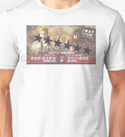 Okada VS Omega WK11 6 Star Match Unisex T-Shirt