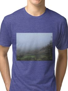 Freezing mist flooding the valley Tri-blend T-Shirt