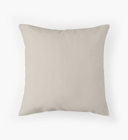Soft Sand Throw Pillow
