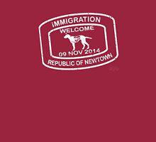 Republic of Newtown - 2014: White Long Sleeve T-Shirt