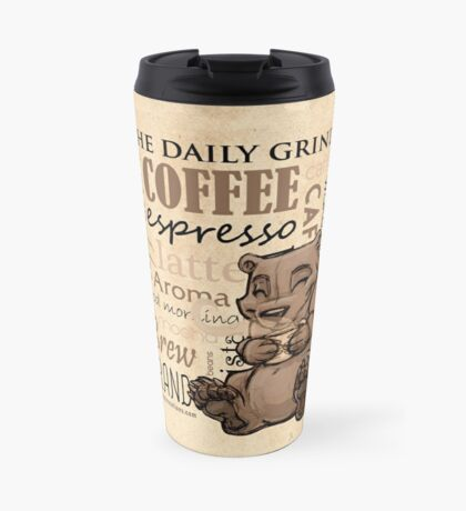 Coffee Bear Travel Mug