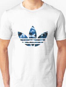 Adidas Trefoil Original Blue Camo T-Shirt