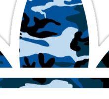 Adidas Trefoil Original Blue Camo Sticker
