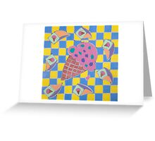 Let's Eat Ice Cream Greeting Card