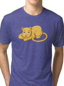 Cute cartoon tiger Tri-blend T-Shirt