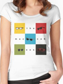 The Maccabees - Wall of Arms Women's Fitted Scoop T-Shirt