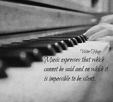 Music Expresses Victor Hugo by Kimberose