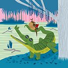 The Alligator and The Armadillo by Oliver Lake