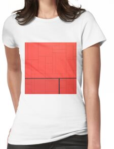 No Entrance V Womens Fitted T-Shirt