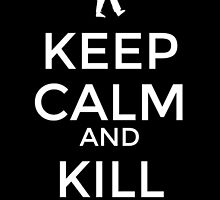 keep calm and kill zombies by Koalka