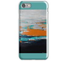 Contemporary abstract art with mid-century twist iPhone Case/Skin