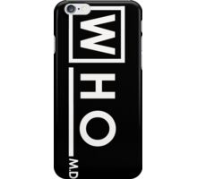 Doctor Who House iPhone Case/Skin