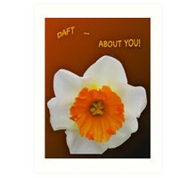 ***SAY IT WITH DAFFODILS! Art Print