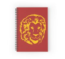 Yellow lion Spiral Notebook