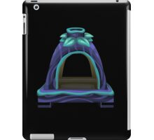 Glitch furniture fireplace uralia fireplace iPad Case/Skin
